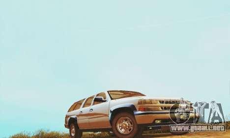 Chevrolet Suburban SAPD FBI para GTA San Andreas left