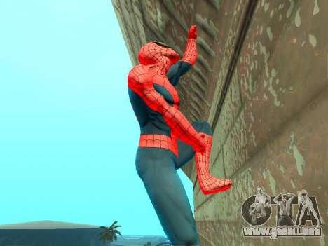 Escalar paredes como Spider-man para GTA San Andreas