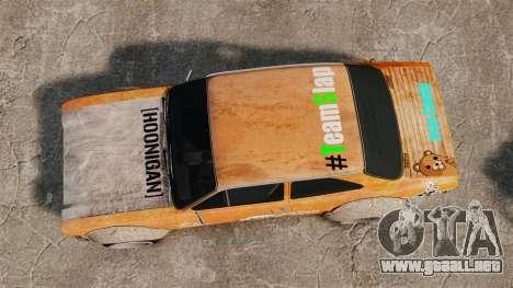 Ford Escort Mk1 Rust Rod para GTA 4 visión correcta