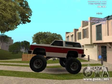 Rancher Monster para GTA San Andreas left