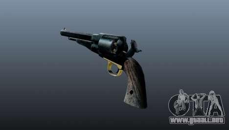 V1 revólver Remington para GTA 4 segundos de pantalla