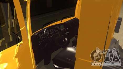 Volkswagen Constellation 13.180 para visión interna GTA San Andreas