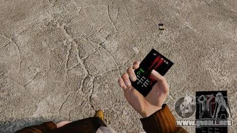 Temas de Rock gótico para su teléfono para GTA 4 décima de pantalla
