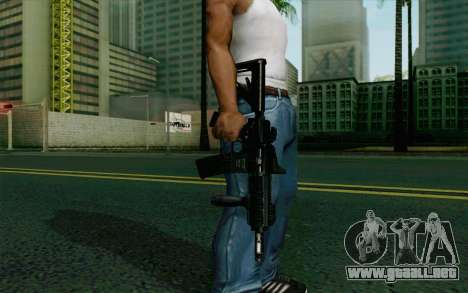 MK107 PDW para GTA San Andreas tercera pantalla