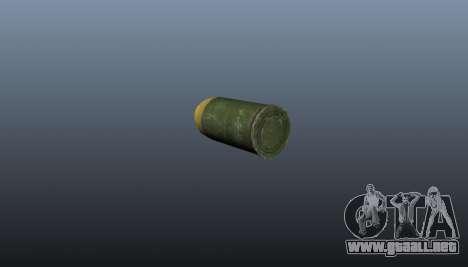 Lanzador de granadas MGL-MK1 para GTA 4 adelante de pantalla
