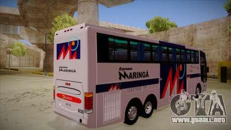 Busscar Jum Buss 400 P Volvo para la visión correcta GTA San Andreas