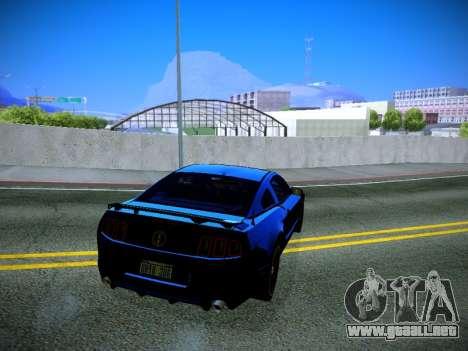 ENB by DjBeast for SA:MP Light Version para GTA San Andreas sucesivamente de pantalla