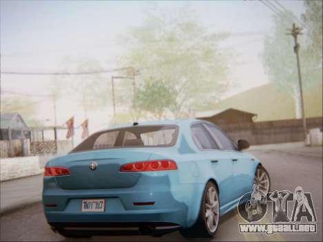 Alfa Romeo 159 Sedan para la visión correcta GTA San Andreas