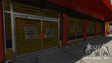 Tiendas reales v2 para GTA 4 décima de pantalla