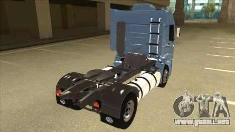Volkswagen Constellation 19.320 Titan para la visión correcta GTA San Andreas