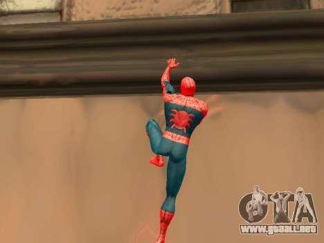 Escalar paredes como Spider-man para GTA San Andreas segunda pantalla