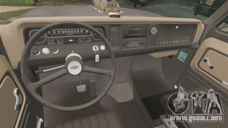 Chevrolet C-10 Stepside v3 para GTA 4 vista lateral