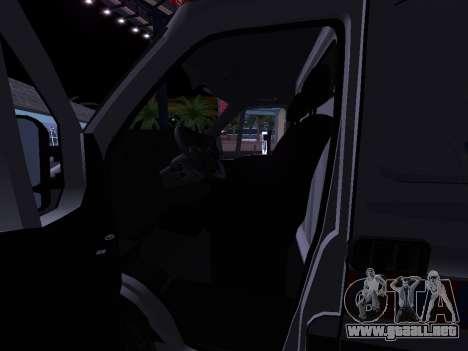 Renault Master ambulancia Serbio para vista lateral GTA San Andreas