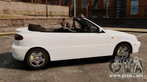Daewoo Lanos 1997 Cabriolet Concept para GTA 4 left