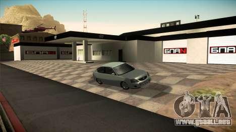 El garaje en Doherty BPAN v1.1 para GTA San Andreas quinta pantalla