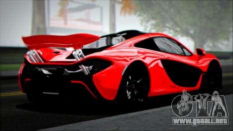 McLaren P1 2014 para GTA San Andreas left