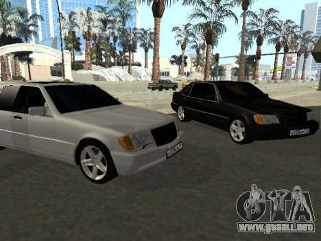 Mercedes-Benz W140 S600 para GTA San Andreas left