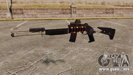 Escopeta M1014 v4 para GTA 4 tercera pantalla