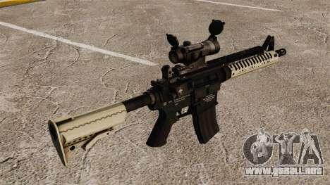 Automático carabina M4 VLTOR v4 para GTA 4 segundos de pantalla