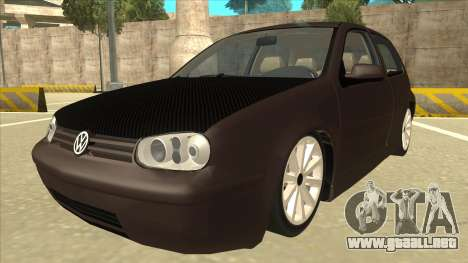 VW Golf 4 Tuned para GTA San Andreas