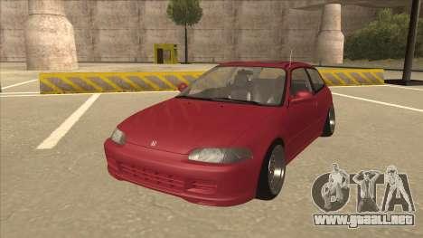 Honda Civic EG6 Camber para GTA San Andreas