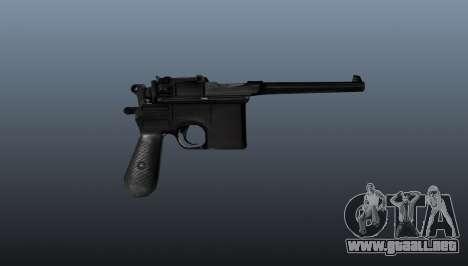 V2 pistola Mauser para GTA 4 tercera pantalla
