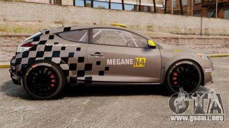 Renault Megane RS N4 para GTA 4 left