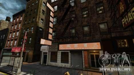 Tiendas reales v2 para GTA 4 tercera pantalla