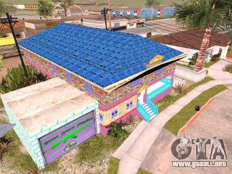 Textura Karl House para GTA San Andreas tercera pantalla