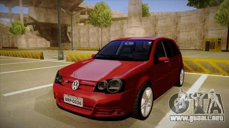 VW Golf GTI 2008 para GTA San Andreas