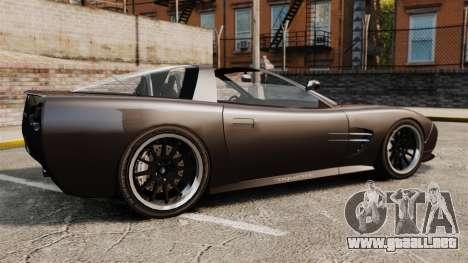 Coquette Targa para GTA 4 left