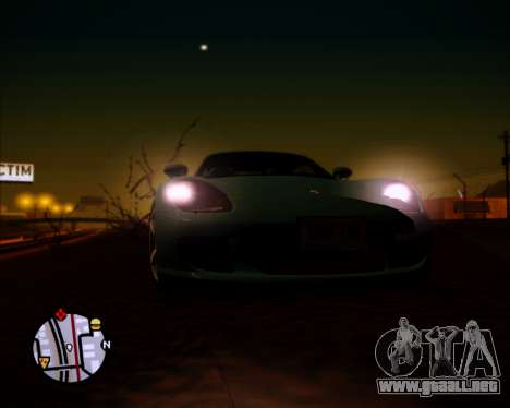 SA Graphics HD v 1.0 para GTA San Andreas octavo de pantalla