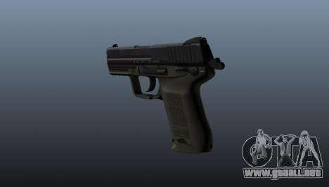 Pistola HK45C v2 para GTA 4 segundos de pantalla