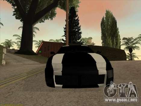 New Jester para GTA San Andreas vista posterior izquierda