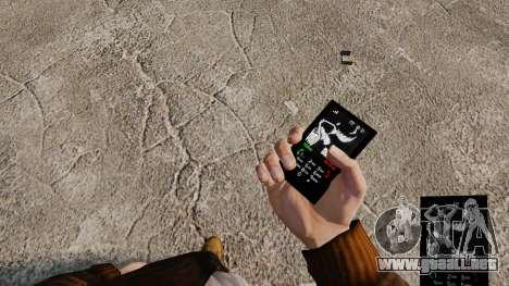 Temas de Rock gótico para su teléfono para GTA 4 octavo de pantalla