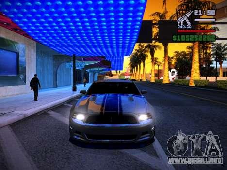 ENB by DjBeast for SA:MP Light Version para GTA San Andreas novena de pantalla