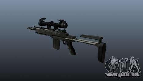 Fusil automático M14 EBR v2 para GTA 4 segundos de pantalla