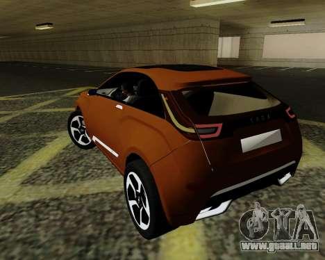 Lada X-RAY para GTA San Andreas left