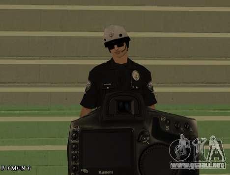 Los Angeles Air Support Division Pilot para GTA San Andreas quinta pantalla