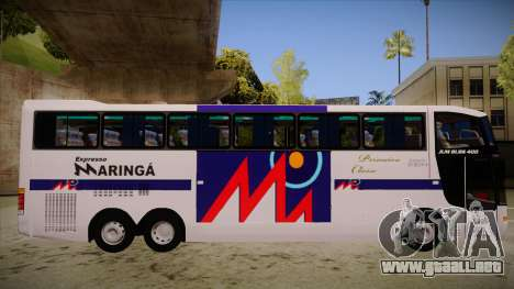 Busscar Jum Buss 400 P Volvo para GTA San Andreas vista posterior izquierda