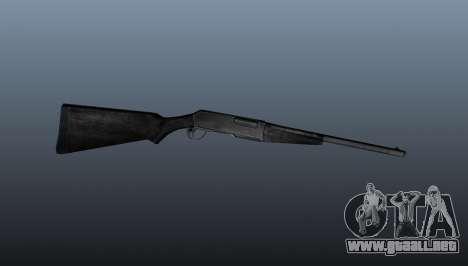 Escopeta semiautomática para GTA 4 tercera pantalla