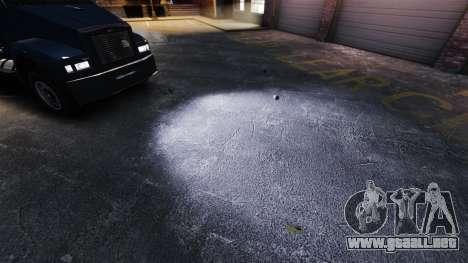 Faros de xenón para GTA 4 tercera pantalla