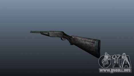 Escopeta semiautomática para GTA 4 segundos de pantalla