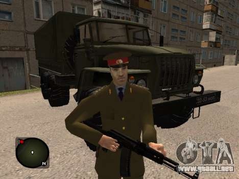 Comandante General del ejército ruso para GTA San Andreas