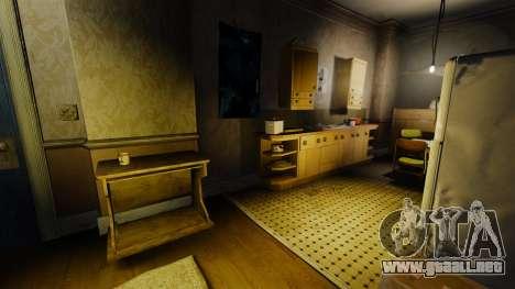 Nuevas texturas en el primer piso de la novela para GTA 4 adelante de pantalla