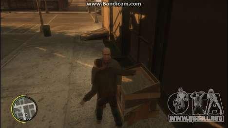 V Style para GTA 4 adelante de pantalla
