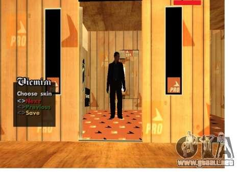 Mafia rusa Pack la piel para GTA San Andreas segunda pantalla