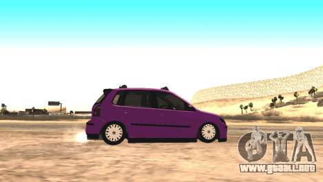 Volkswagen German Polo para GTA San Andreas left