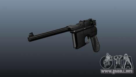 V2 pistola Mauser para GTA 4