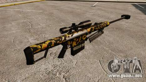 El francotirador Barrett M82 rifle v11 para GTA 4 segundos de pantalla